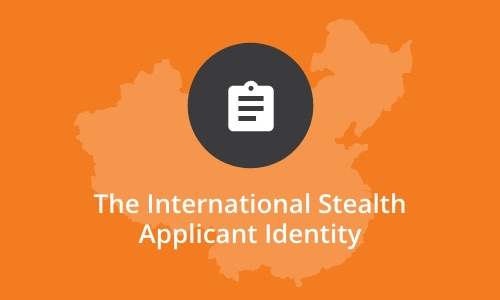 UniQuest research - international stealth applicant identity